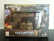 Uncharted 3 edition explorer collector - neuf !!! jeu et goodies sous blister