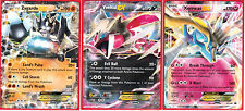 Pokemon XY Xerneas EX XY149, Yveltal EX XY150 and Zygarde EX XY151 Card Set of 3