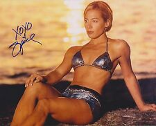 Spice autographed 8x10 WCCW WWE Free Shipping Nitro Girl #2