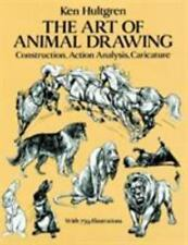 The Art of Animal Drawing: Construction, Action Analysis, Caricature (Dover Boo