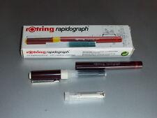Original rotring Tuschefüller Rapidograph 0,25 mm NEU/OVP