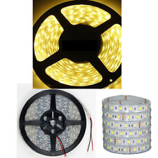 BZONE® Silicone TUBE IP67 Waterproof 5M 5050 SMD 300 LED Light Strip Warm White