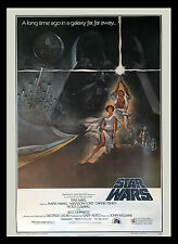 "Star Wars Original Rolled One Sheet Style A Heavy Card Stock 27"" x 41"", 77/21"