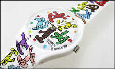 BIG RIDE! Colorful Snowboarder's ART Special Swatch by TED SCAPA-NIB!