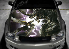 Dragon Full Color Graphics Adhesive Vinyl Sticker Fit any Car Hood #163