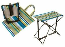Portable Multi-Purpose Folding Stool with Carry Bag