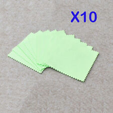 10pcs Silver Polishing Cloth Sterling 925 Silver Jewelry Cleaner Anti-tarnish