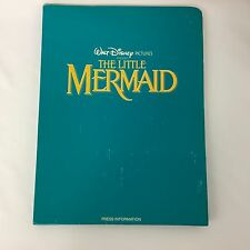 Walt Disney's The Little Mermaid Press Kit Buena Vista Folder