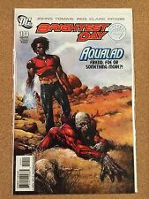 DC BRIGHTEST DAY#10 NM 1st Appearance DEATHSTORM Gay AQUALAD Cover Rebirth