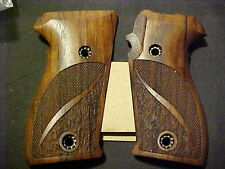 Pistol Grips for SIG SAUER P225 P6  Fine English Walnut Checkered/Textured NEW!