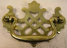 "12 Vintage Style Brass Handles Knobs Pulls 3"" Furniture Cabinet Hardware '"