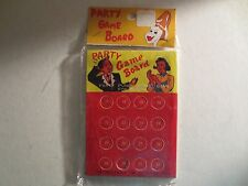 Vintage Party Game Punch Out Board Made In Japan  MIP