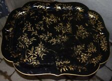 Antique Papier Mache' Coffee or Tea Tray