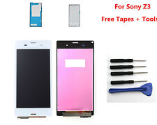 White LCD Display Screen Touch Digitizer For Sony Xperia Z3 D6603 D6643 D6653