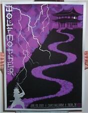WOLFMOTHER SILVER INKS 5 COLOR SILKSCREEN POSTER SLATER