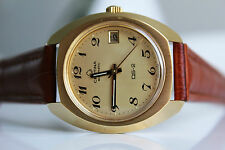 CERTINA DS-2 Automatic 20M Gold *NOS, 1969,  great dial!*