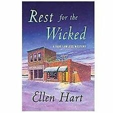 Rest for the Wicked Jane Lawless Mysteries - Hart, Ellen - Hardcover