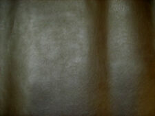 Brown Leatherette Faux Leather Look Upholstery Fabric SOLD BY THE METRE
