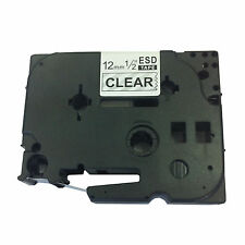 Brother Compatible TZ131 For P-Touch PT1800 PT1810 12mm Black/Clear Label Tape