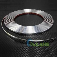 15M Universal Car Auto Door Edge Guard Protector Chrome Moldings Trim Strip DIY