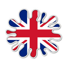 UNION JACK SPLAT-  GB FLAG COOL SELF ADHESIVE STICKERS CAR VAN TRUCK