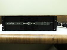 CREST AUDIO Vs650 STEREO DUAL POWER AMPLIFIER AMP