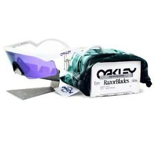 Oakley RAZORBLADES Heritage Collection White w/ Violet Iridium OO9140-15 Fast Sh
