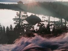 KEITH PRICE PHOTOGRAPH IN LAKE TAHOE OF EMERALD BAY DANCING WATERS WITH COA