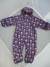 N e w  JOJO MAMAN BEBE Waterproof Fleece Lined All In One BNWT 12-18m Snowsuit