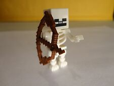 LEGO SKELETON Wood Bow 21114 MINECRAFT The Farm NEW minifigure mini fig Monster