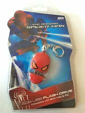 BACK TO SCHOOL! Spider-Man ~ 4GB USB Flash Drive & Key Chain ~ Mac or PC New!