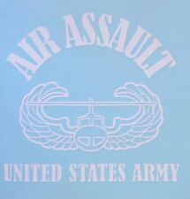US Army Air Assault Decal Special Ops Wings Window Sticker Car Truck Graphic AR