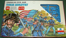 1/72 MIB ESCI Union Infantry Set plastic ACW