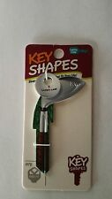 Golf Club with Gold Ball  Blank Key Blank  House Key KW1
