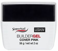 SuperNail LED/UV Builder Gel Cover Pink - 2oz (51617)