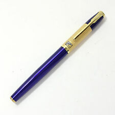 Hero 6117 Blue and Gold Fountain Pen