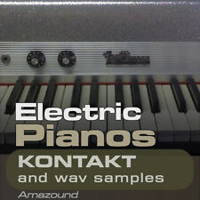 64 ELECTRIC PIANOS & RHODES for KONTAKT .nki INSTRUMENTS & 890 WAV SAMPLES