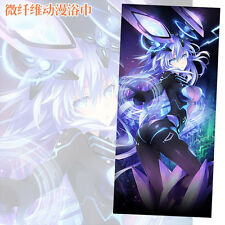 Hyperdimension Neptunia Purple Hear Hand Towel Soft Towel Microfiber Sport 155cm