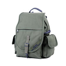 Domke 702-30D F-3 Backpack Canvas Large Pocket Comfortable Carrying Bag (Olive)