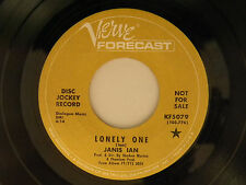 Janis Ian 45 LONELY ONE... / ...SEASONS OF YOUR MIND ~ Verve VG to VG+
