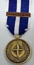 MEDAGLIA MISSIONE OPERAZIONE DI PACE NATO IN KOSOVO DECORAZIONE N.A.T.O.