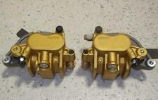Honda Transalp, Africa Twin, CBR 600, Nissin gold NOS PAIR front brake calipers