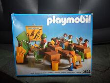 Vintage 1984 Playmobil 3522 KINDERGARTEN SCHOOL CLASS Set w/Box 100% Complete