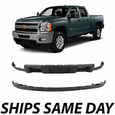 NEW Front Bumper Lower Air Deflector Valance Kit 2011-2013 Chevy Silverado HD