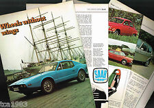 Old SAAB Cars/Auto ARTICLE / Photos / Pictures: SONNETT,96