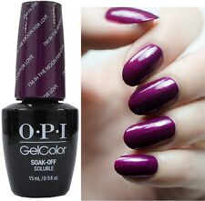 OPI Gelcolor I'M IN THE MOON FOR LOVE Purple Plum Shimmer UV/LED Gel Nail Polish