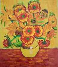 100% Hand-painted Oil Painting On Canvas Van Gogh Sunflowers