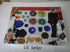 4D Launcher Grip Beyblade Set Metal Master Fusion Top Rapidity Rare US Seller