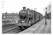 pt6440 - BR Engine 44414 The Cobbler at Dunstable Railway Station - photograph