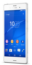 NEW SONY XPERIA Z3 WHITE 32GB 4K RECORDING 21MP WATER PRF MRP 35000